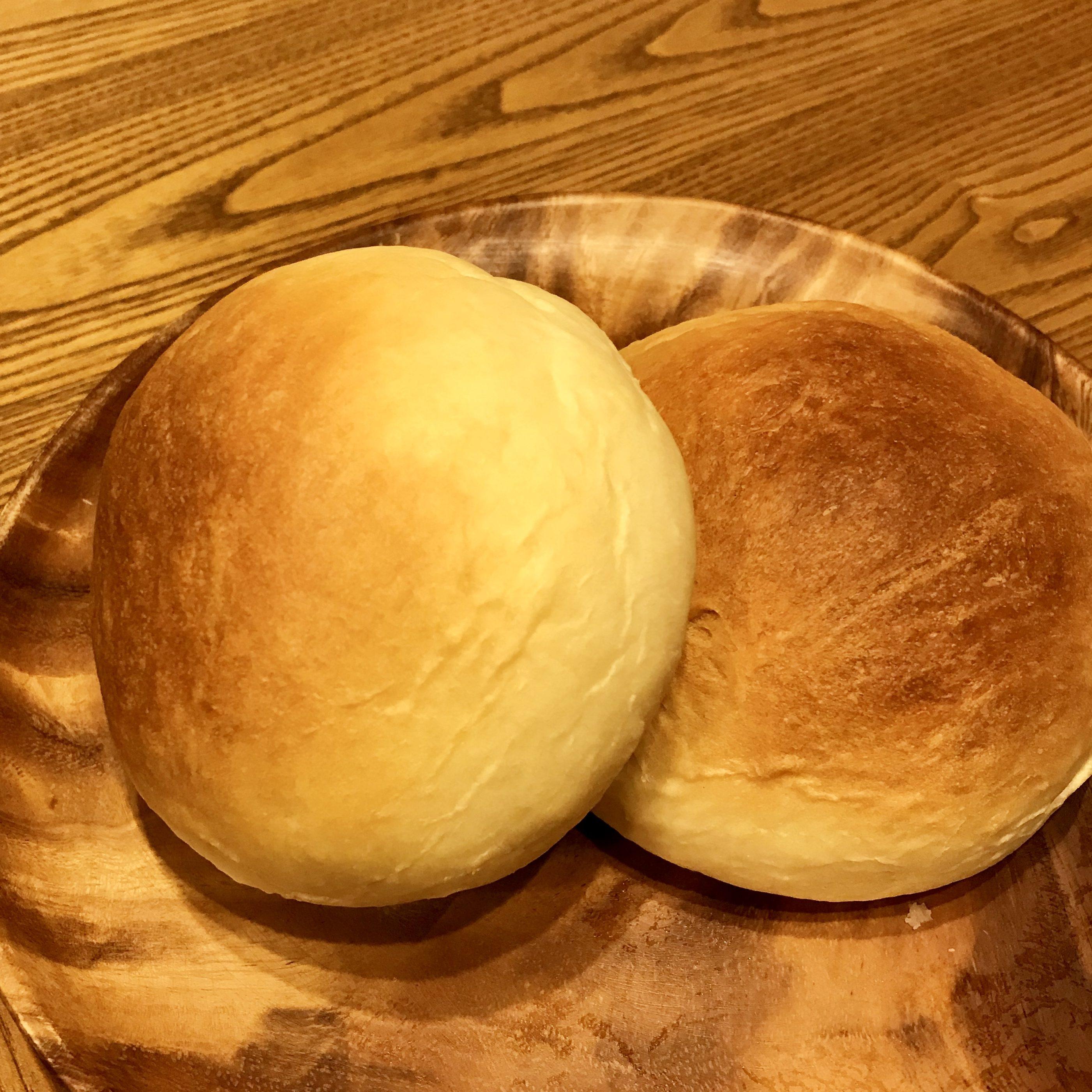 昨日焼いたパン