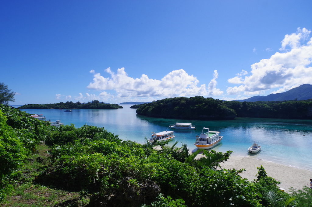 川平湾の景色1